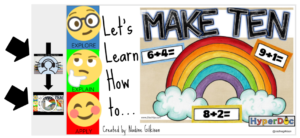 Make 10 Hyperdoc Example by Nadine Gilkison