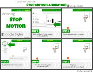 Creating Stop Motion