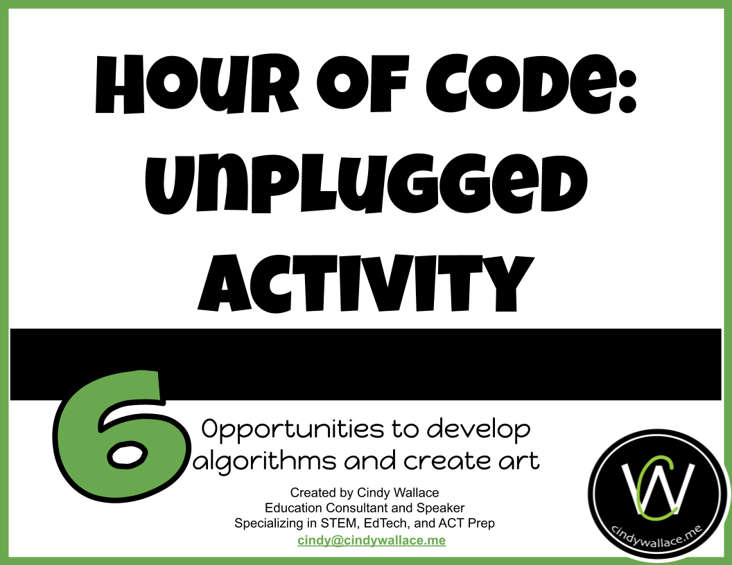Link to the Hour of Code Unplugged Activity