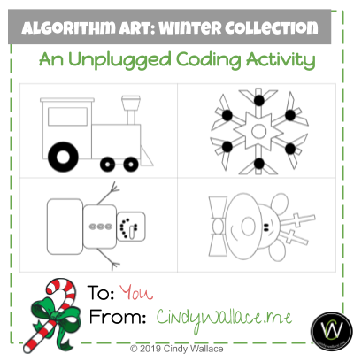 Unplugged Coding Activity Winter Collection
